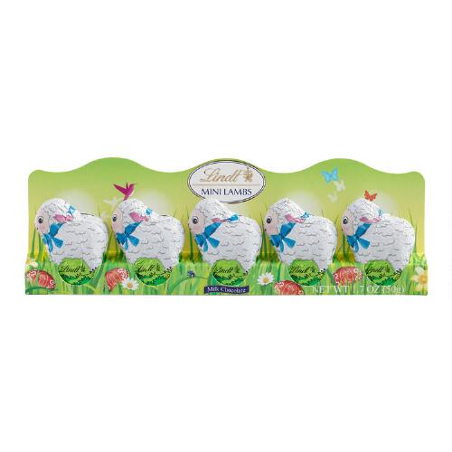 Lindt Mini Lambs, 5-Piece