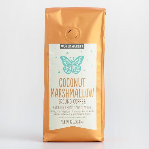 World Market® Coconut Marshmallow Coffee, Set of 6