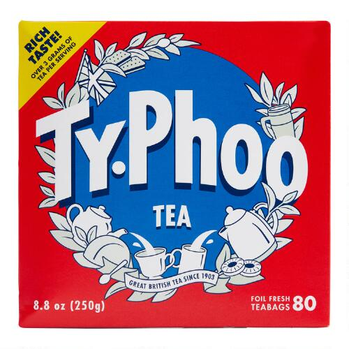 Typhoo Tea, 80-Count