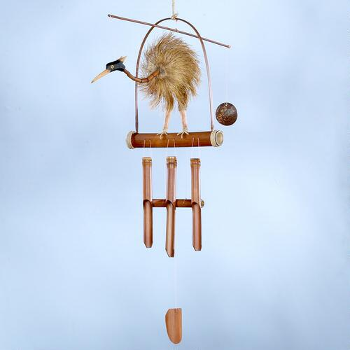 Bamboo Bird Wind Chime