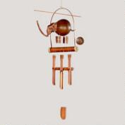 Bamboo Elephant Wind Chime