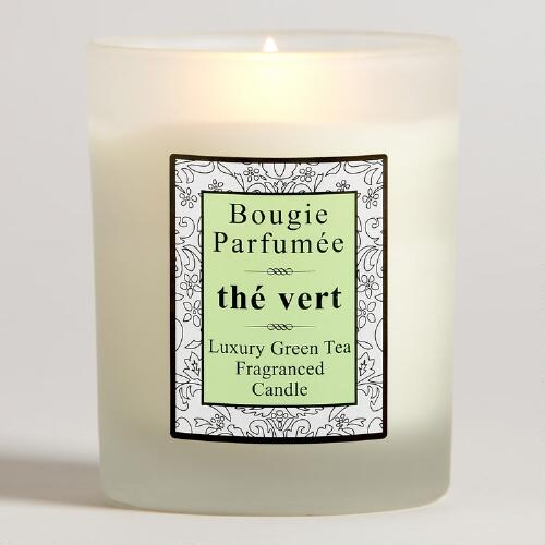 French Candle, Green Tea