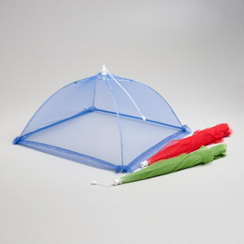Collapsible Mesh Food Tents, Set of 3