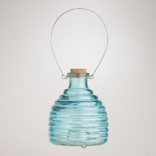 Glass Wasp Catcher, Blue