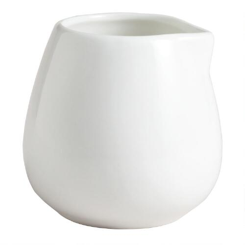 Mini White Porcelain Tasting Sauce Bowls, Set of 4