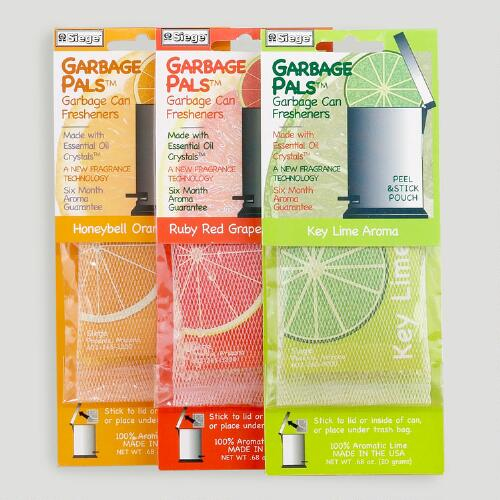 Citrus Garbage Pals, Set of 3