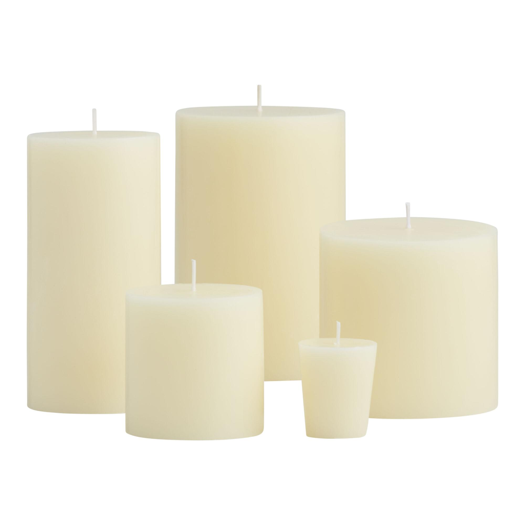 Our Unscented Candles are nothing to sniff at. Perfect for dinner parties, they're fragrance-free to allow your culinary skills to shine—aromatically speaking. Crisp, white hand-poured pillars are fashioned of pure paraffin wax and are available in assorted sizes/5(35).