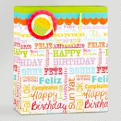 Large Birthday Gift Bags, Set of 3