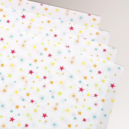 Birthday Stars Tissue Paper