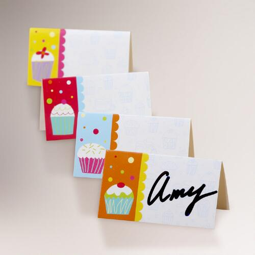 Birthday Place Cards, Set of 2
