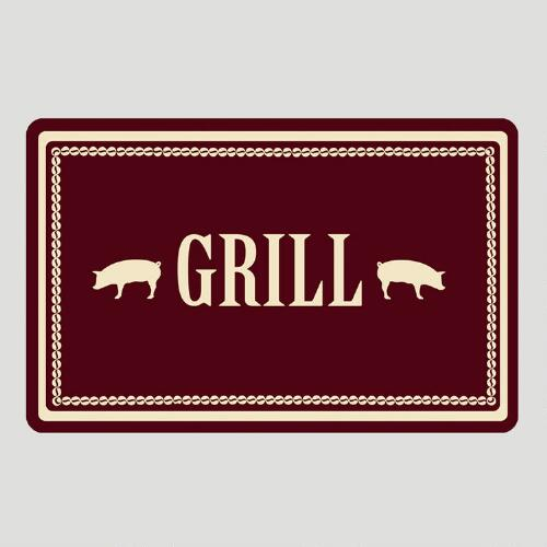 Hog Grill Cushioned Floor Mat