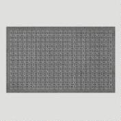 Gray Corona Recycled Doormat