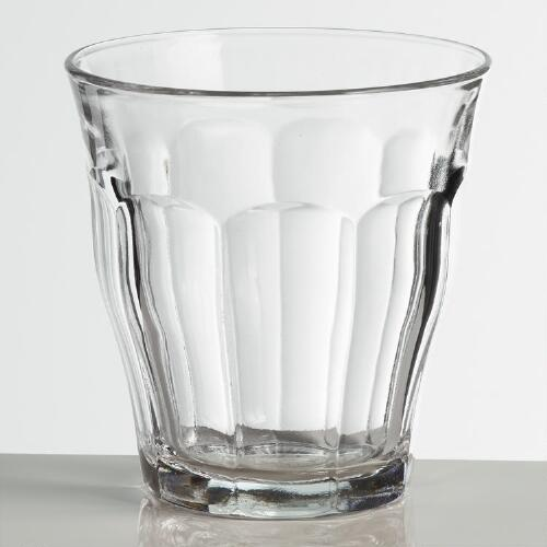 Tempered Duralex Picardie Juice Glasses Set of 4