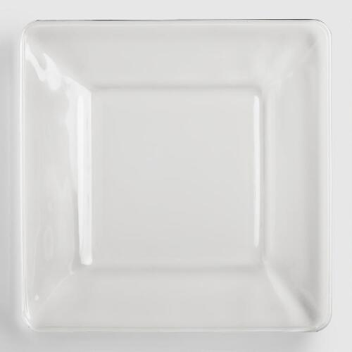 Tempo Square Salad Plates, Set of 4
