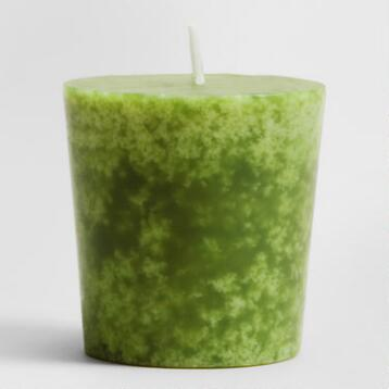 China Pear Votive Candles, Set of 12
