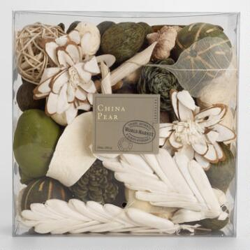 China Pear Potpourri Box