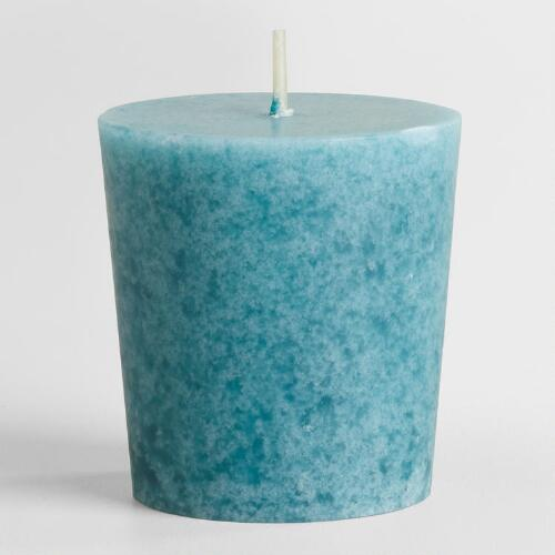 Brazilian Orchid Votive Candles, Set of 12