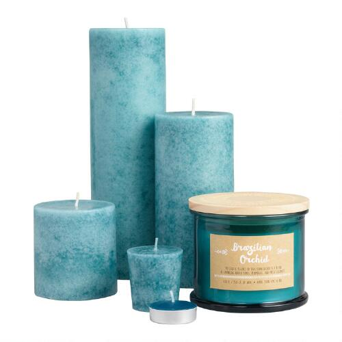 Brazilian Orchid Mottles Candles