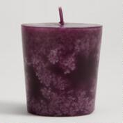 French Cassis Votive Candles, Set of 12