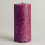 French Cassis Mottled Candle, 2.9