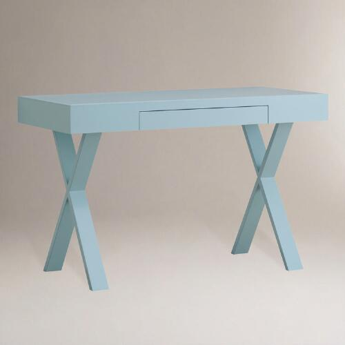 Light Blue Josephine Desk