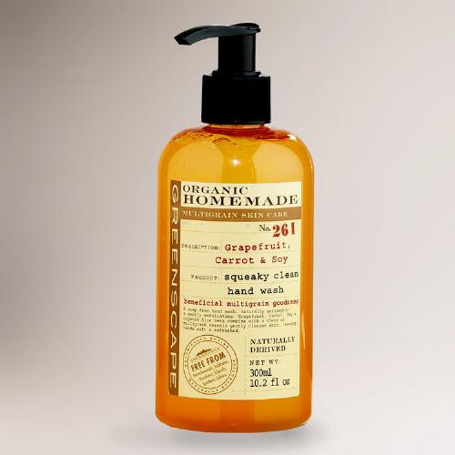 Organic Homemade Grapefruit, Carrot & Soy Hand Wash