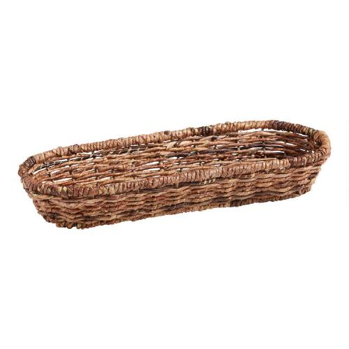Madras Oval Basket
