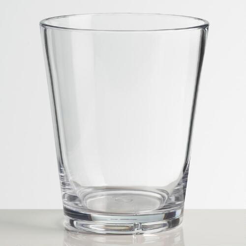 Acrylic Double Old-Fashioned Glasses, Set of 4