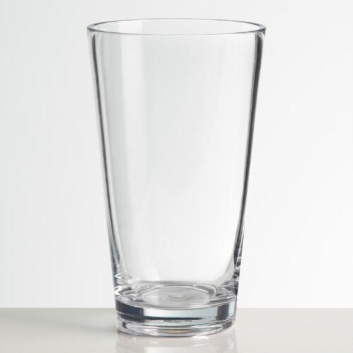 Acrylic Highball Glasses, Set of 4