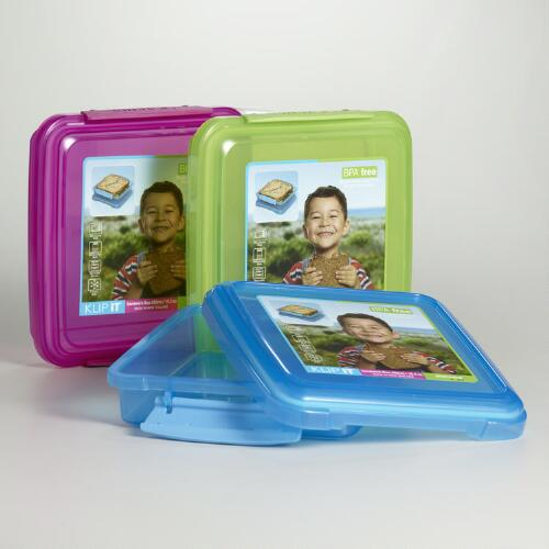 Sistema Klip-It Sandwich Boxes, Set of 3