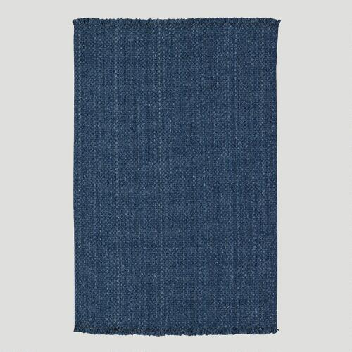 Cobblestone Rug, Denim