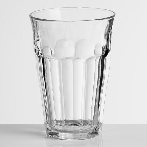 Tempered Duralex Picardie Highball Glasses, Set of 4