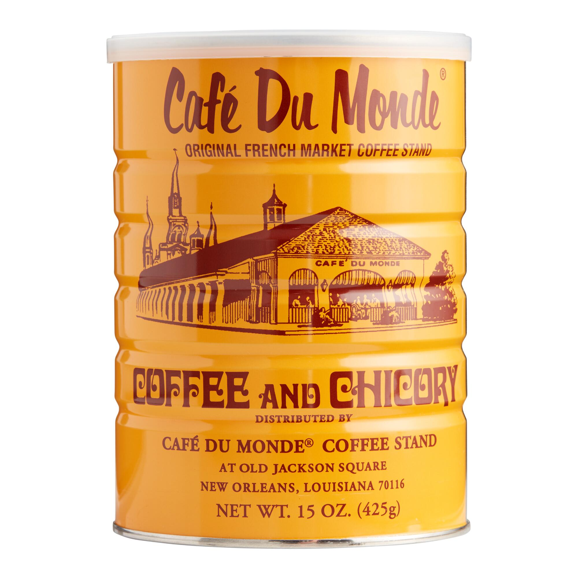 cafe du monde coffee and chicory world market. Black Bedroom Furniture Sets. Home Design Ideas