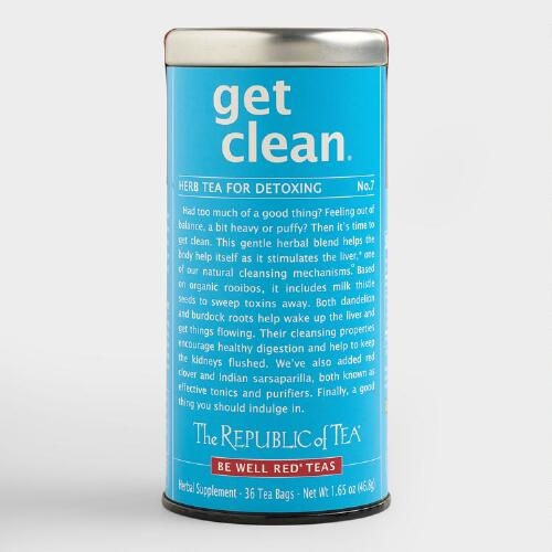 The Republic of Tea Get Clean Herb Tea, 36-Count