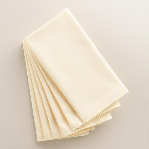 Ivory Buffet Napkin, Set of 6