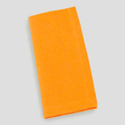 Jaffa Orange Buffet Napkin, Set of 6