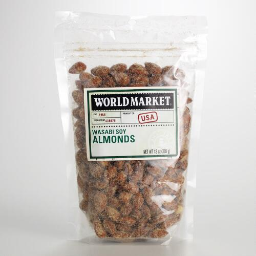 World Market® Wasabi Soy Almonds