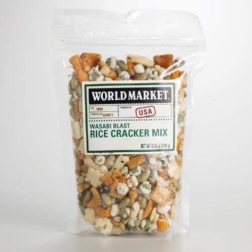 World Market® Wasabi Rice Cracker Mix