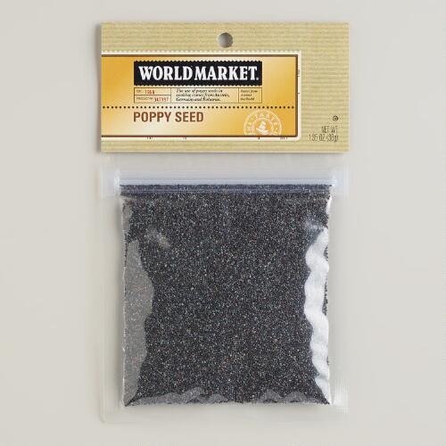 Poppy Seed World Market® Spice Bag