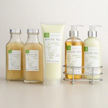 White Tea and Jasmine Bath and Body Collection