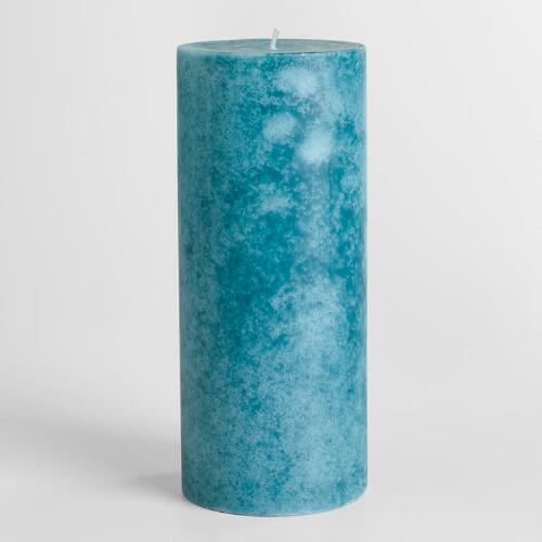 "4"" x 9"" Brazilian Orchid Pillar Candle"