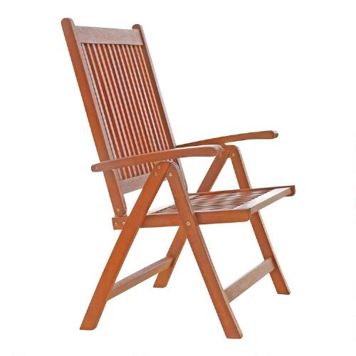 Capri Folding Arm Chair