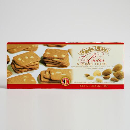 Belgian Butters Almond Thins
