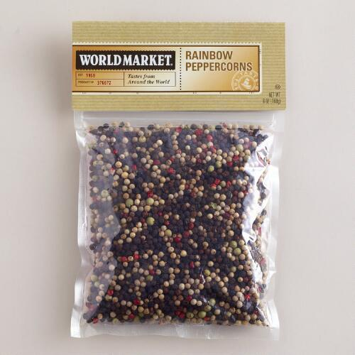 Rainbow Peppercorns World Market® Spice Bag