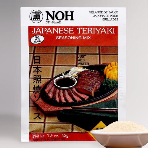 NOH Japanese Teriyaki Seasoning Mix, Set of 2