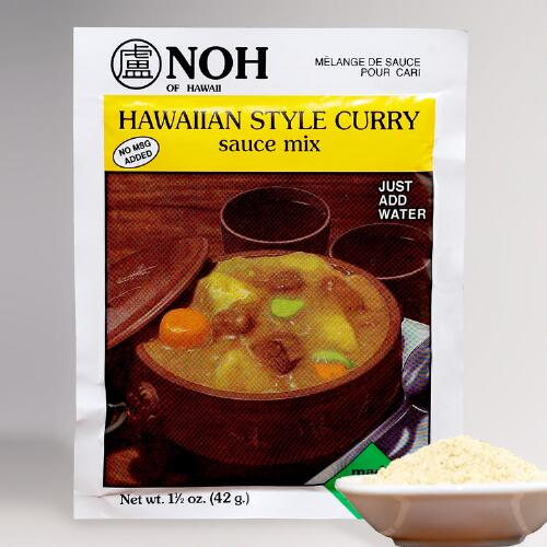 NOH Hawaiian Style Curry Sauce Mix, Set of 2
