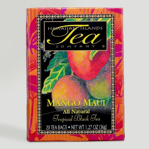 Hawaiian Islands Mango Maui Black Tea, 20 Count Box