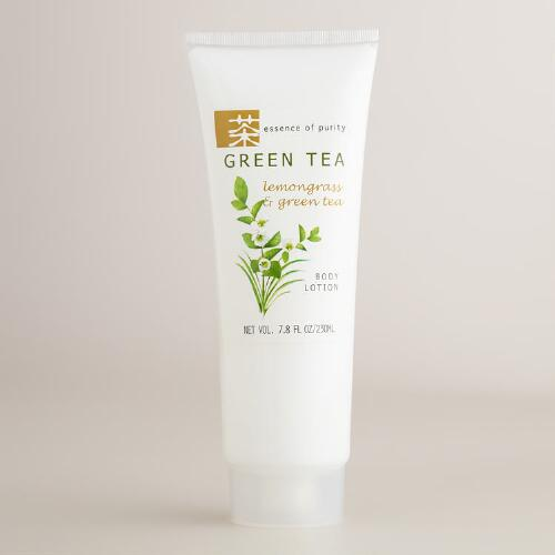 Green Tea & Lemongrass Body Lotion or Scrub