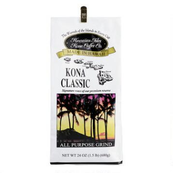 Hawaiian Isles Kona Classic Coffee, 24 oz.