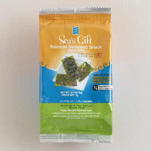Jayone Roasted Seaweed Snack, Set of 12